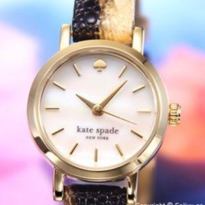 Kate Spade Holland Metro Animal Gold Tone Watch